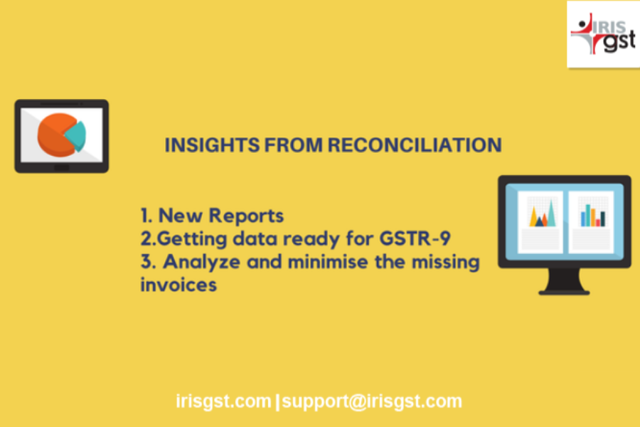 Narrow the difference in Your GST Reconciliation with IRIS Sapphire Insights and Reports