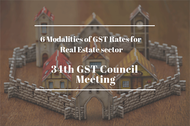 34th GST Council Meeting – GST Rates for Real Estate Sector