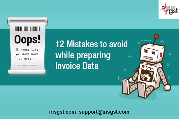 12 Mistakes to Avoid while Preparing Invoice Data