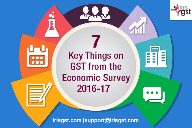 7 Key Things on GST from the Economic Survey 2016-17