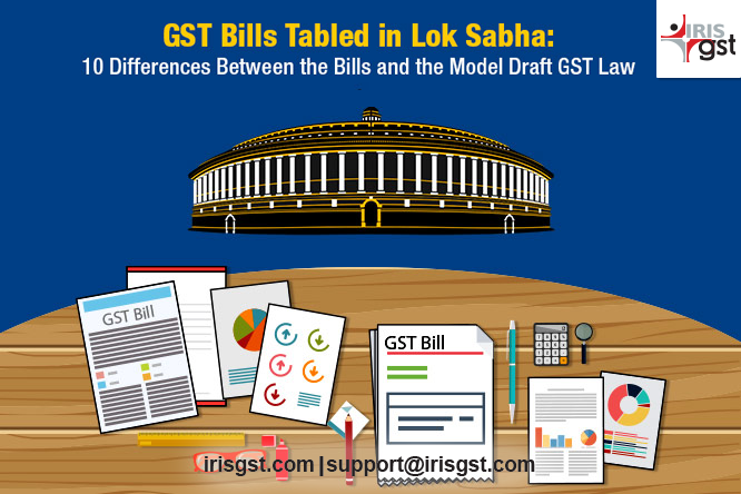 GST Bills Tabled in lok Sabha
