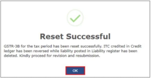 Reset-Successful