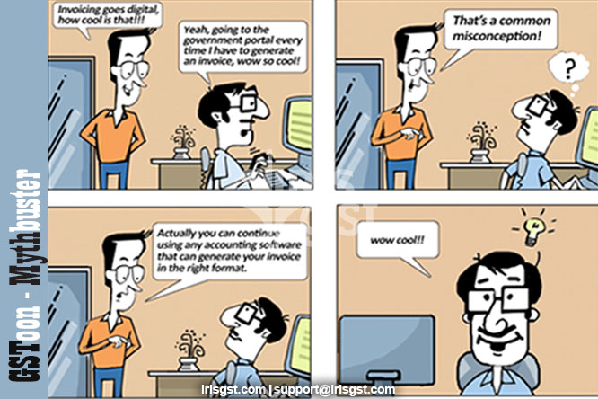 E-invoicing Myth Buster